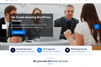 ArileWP – A Professional Multipurpose WordPress Theme for Free
