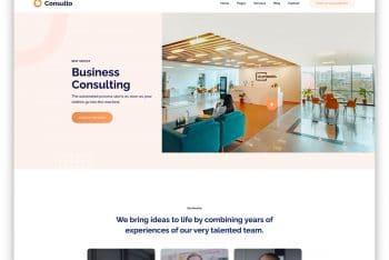 Consulto – Consulting Website HTML Template