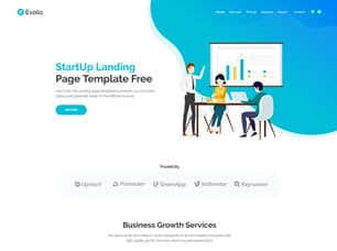 Evolo – Free HTML Website Template