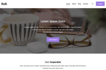 ExS – Multipurpose WordPress Theme for Free