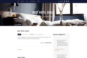 Hotelflix – Hotel Website WordPress Theme for Free