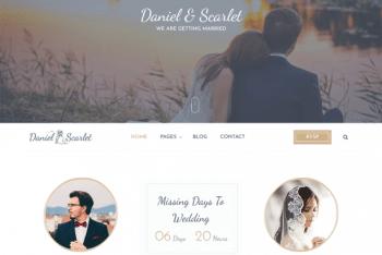 Matrimony – A Free Matrimonial Website WordPress Theme