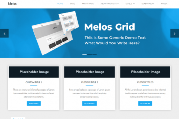Melos Grid – Multipurpose Professional Theme for Free
