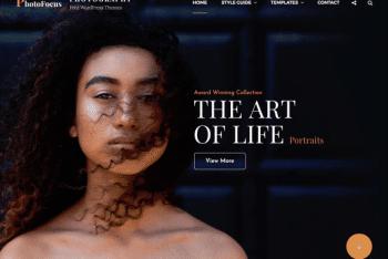 PhotoFocus – Multipurpose Photography WordPress Theme for Free