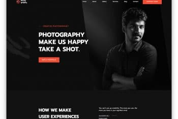 MyPhotography – Free HTML Template