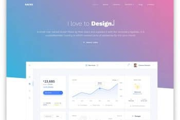 Racks – Software Company Website Template