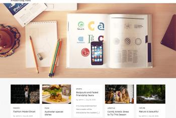 Mero Blog – Modern WordPress Blog Theme