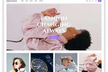 Shionhouse – Clothing Store Website Template