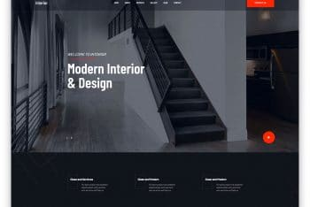 TheInterior – Free Home Decor Website Template