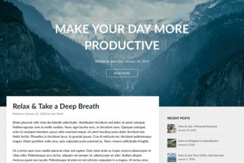 Wordly – WordPress Blog Theme for Free