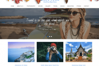 BlogTour – Tour & Travel Website WordPress Theme