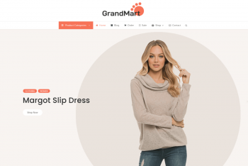 GrandMart – eCommerce Website WordPress Theme