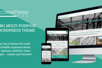 AccessPress Ray – Responsive WordPress Business Theme