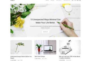 Aspro – A Beautifully Designed WordPress Theme for Free