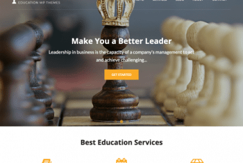 Knowledge – Education WordPress Theme