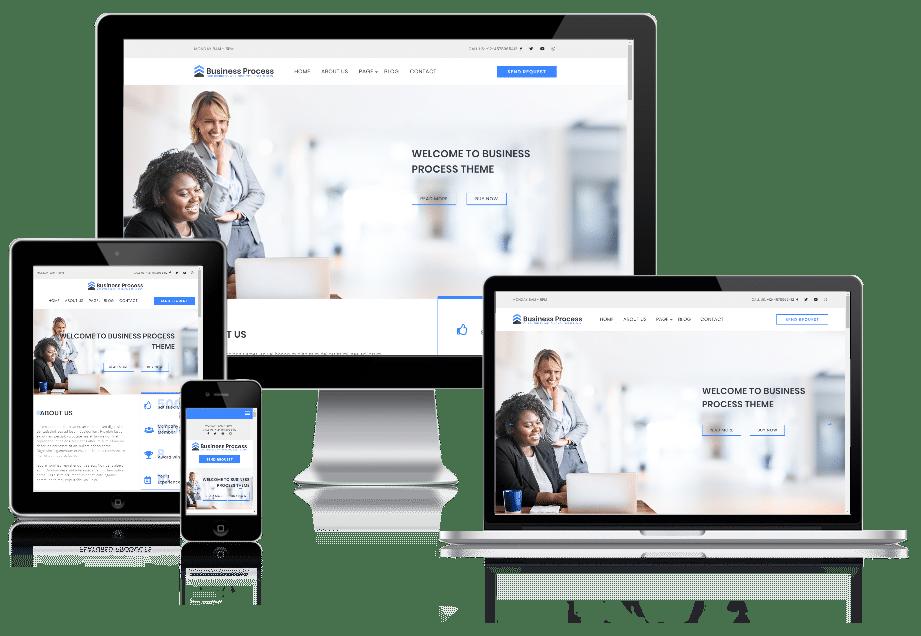Business Process - business website WordPress theme