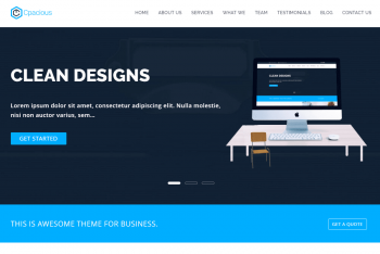 Capacious – Versatile WordPress Theme