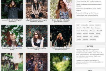 Clean Gallery – Gallery Website WordPress Theme
