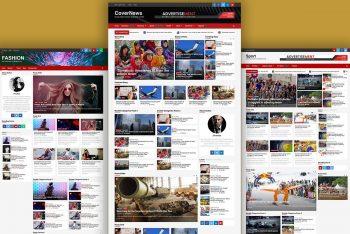 CoverNews – Free Blog/Magazine WordPress Theme