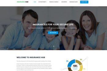 Insurance Hub – WordPress Multipurpose Theme