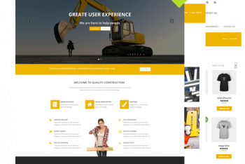 Quality Construction – Construction Website WordPress Theme