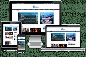 RT Magazine – A Free Magazine Website WordPress Theme