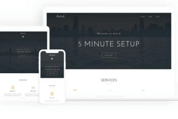 Astrid – Free Business Website WordPress Theme