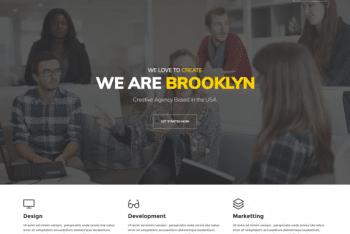 Brooklyn Lite – A Multipurpose WordPress Theme for Free