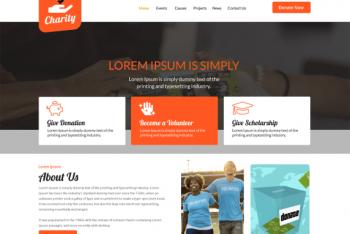 Charity Zone – Free NGO Website WordPress Theme