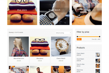 Clean Commerce – A Free Ecommerce Website WordPress Theme