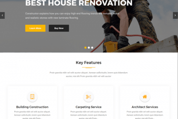 Construction Base – Free Construction Website WordPress Theme