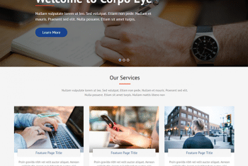 Corpo Eye – Responsive WordPress Multipurpose Theme for Free