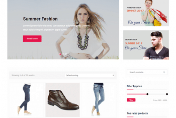 Easy Commerce – Free Ecommerce Website WordPress Theme