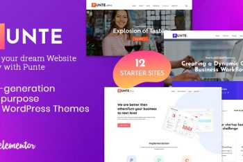 Punte – Free WordPress Theme for Versatile Websites