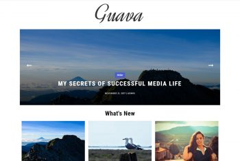 Guava – Free Responsive WordPress Theme