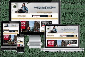 Mag News – Magazine WordPress Theme