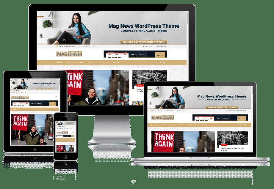 Mag News - magazine WordPress theme
