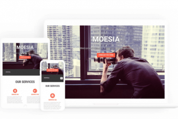 Moesia – Free Business WordPress Theme