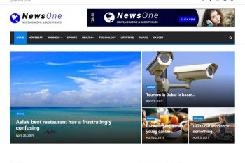 News One – WordPress Magazine Theme for Free