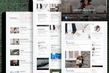 Opus Blog – Free Lightweight WordPress Theme