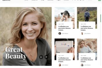 Ovation Blog – A Free Blog WordPress Theme