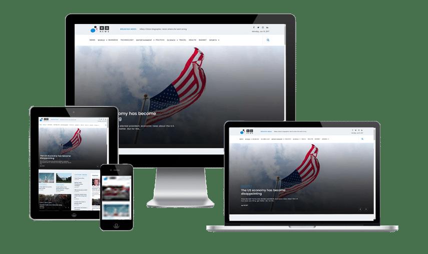 Online News - WordPress magazine theme