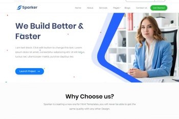 Sparker – Free Multipurpose WordPress Theme