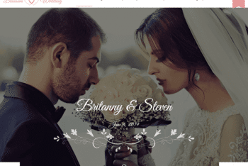 Blossom Wedding – Responsive Wedding Website WordPress Theme for Free