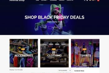 Minimal Shop – A Free Ecommerce WordPress Theme