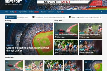 NEWSPORT: WordPress News & Blog Theme for Free