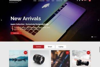 Storekeeper – Free Multipurpose Ecommerce WordPress Theme