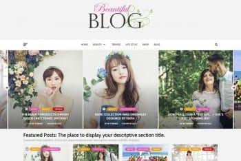 Beautiful Blog – A Free SEO-friendly Blog Theme