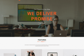 Bizzmo – A Free Business Website WordPress Theme