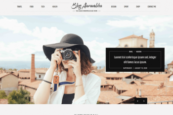 Blog Aarambha – WordPress Blog Theme for Free